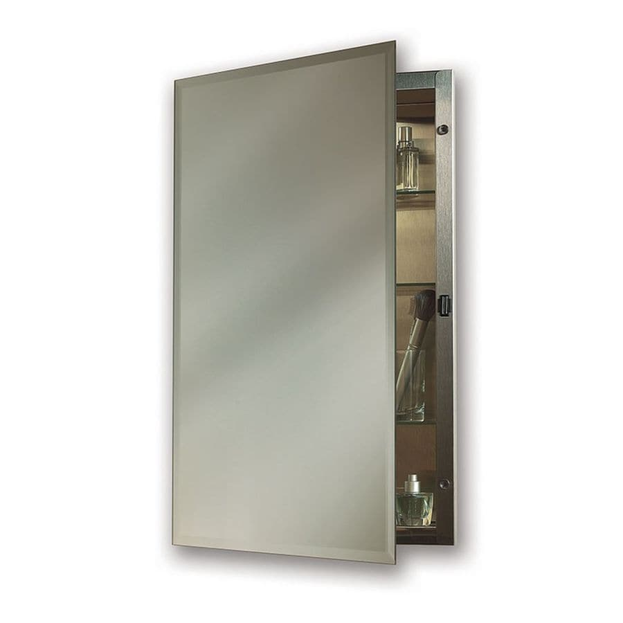 Jensen Galena 16in x 26in Rectangle Recessed Mirrored