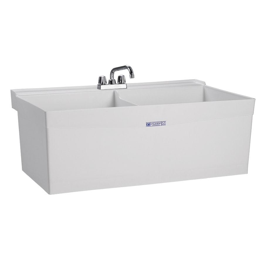 wall mount utility sinks at lowes com