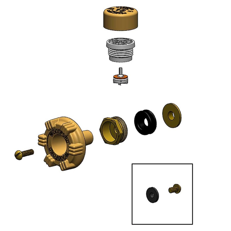 hight resolution of woodford brass sillcock valve replacement part