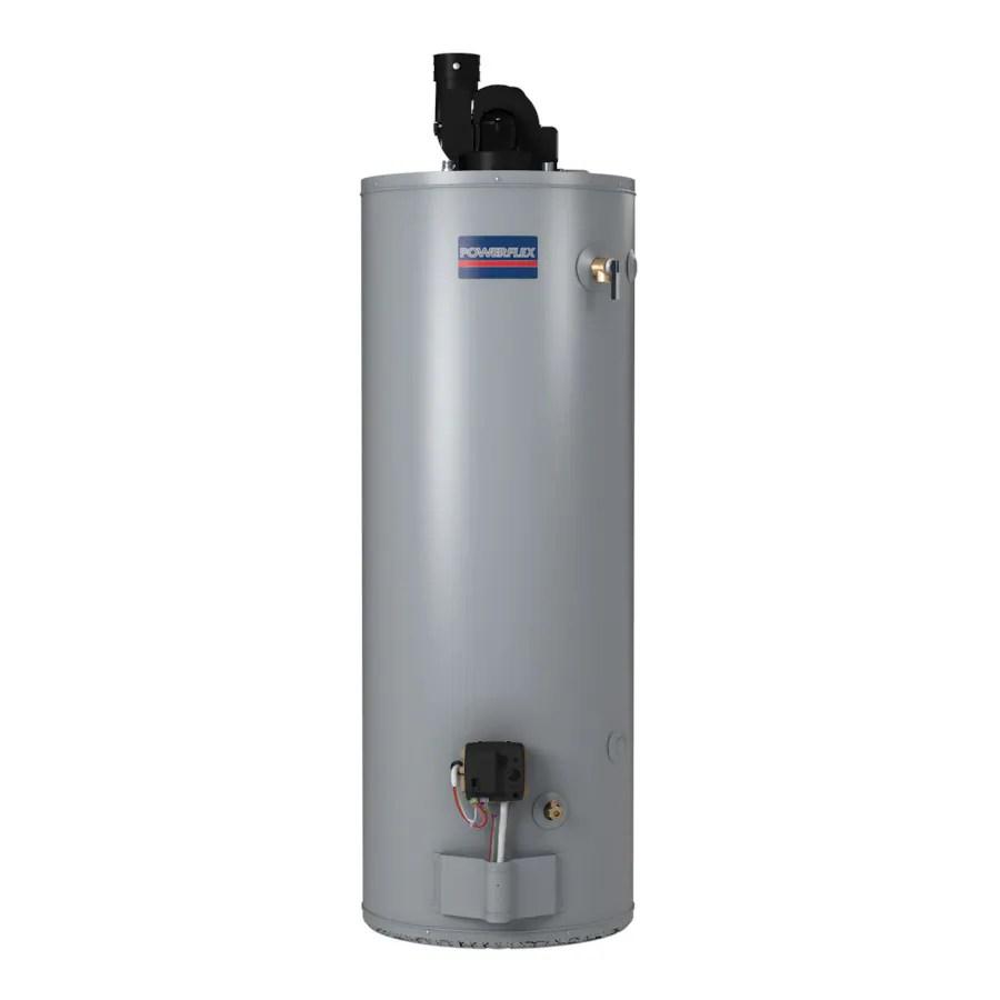 Shop Powerflex Direct 50gallon 6year Tall Natural Gas