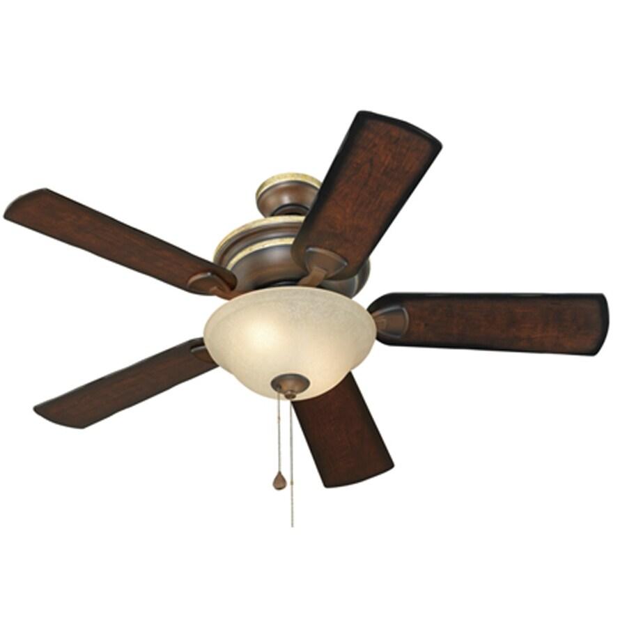 harbor breeze keyport sql management studio database diagram 44 in walnut indoor downrod or flush mount ceiling fan with light kit 5 blade