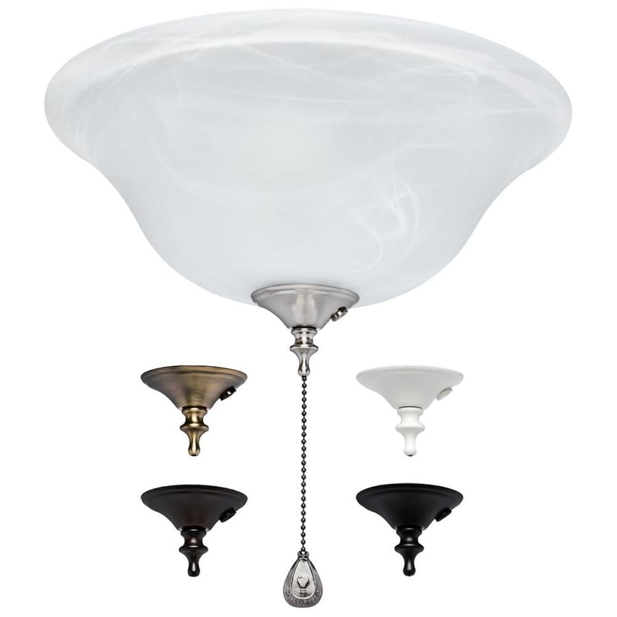 medium resolution of harbor breeze 3 light alabaster incandescent ceiling fan light kit with alabaster glass shade