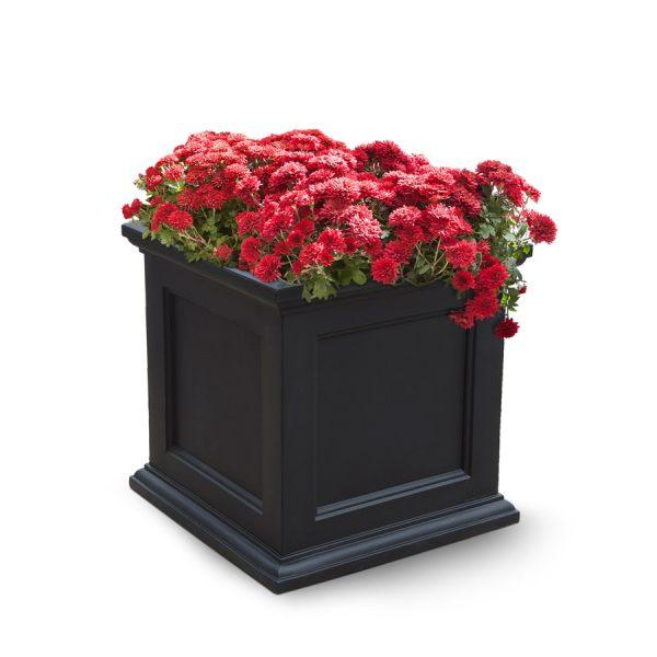 Black Square Planter Boxes