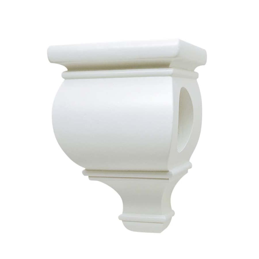 allen roth 2 pack white wood drapery