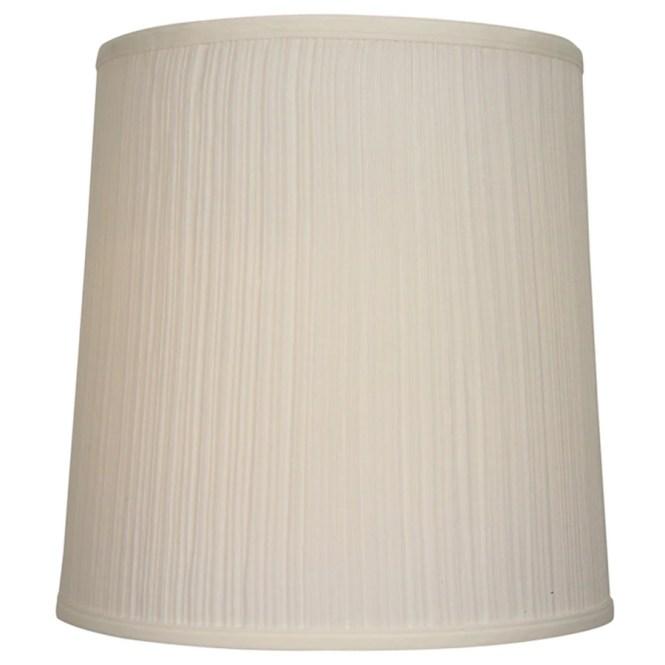 Allen Roth 14 In X Beige Fabric Drum Lamp Shade