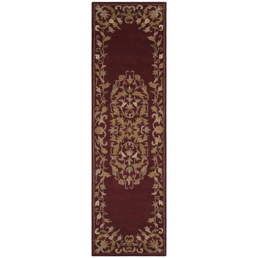 Safavieh Heritage Kirari Red Indoor Handcrafted Oriental Runner   Lowes Carpet Runners By The Foot   Persian Carpet   Beige Carpet   Heriz Rug   Kilim Rugs   Stairs
