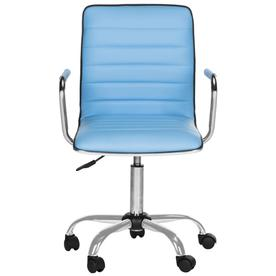 desk chair blue silver sashes office chairs at lowes com safavieh jonika contemporary