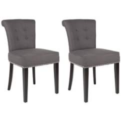 Safavieh Dining Chairs Hanging Chair Nursery At Lowes Com Set Of 2 Sinclair Side