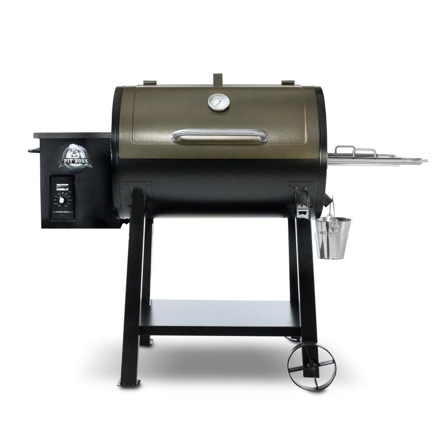 Display Product Reviews For  Sq In Two Tone Black And Bronze Pellet Grill