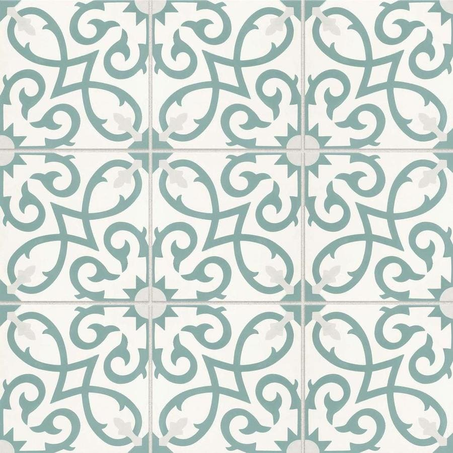 bedrosians remy 12 pack oasis 8 in x 8 in matte cement encaustic tile