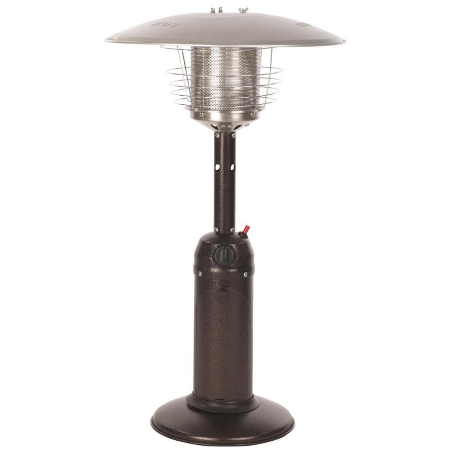 tabletop gas patio heaters at lowes com
