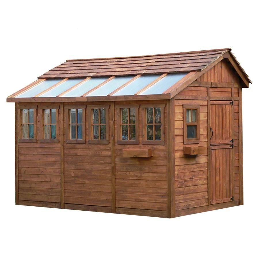 Cedar Storage Shed
