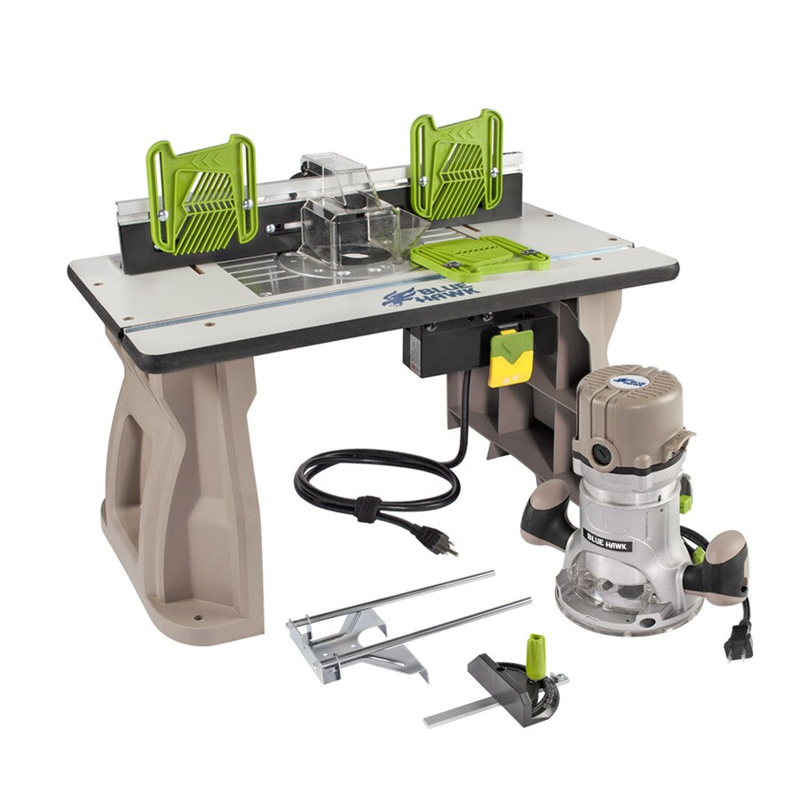 Blue Hawk Router Table Combo Review