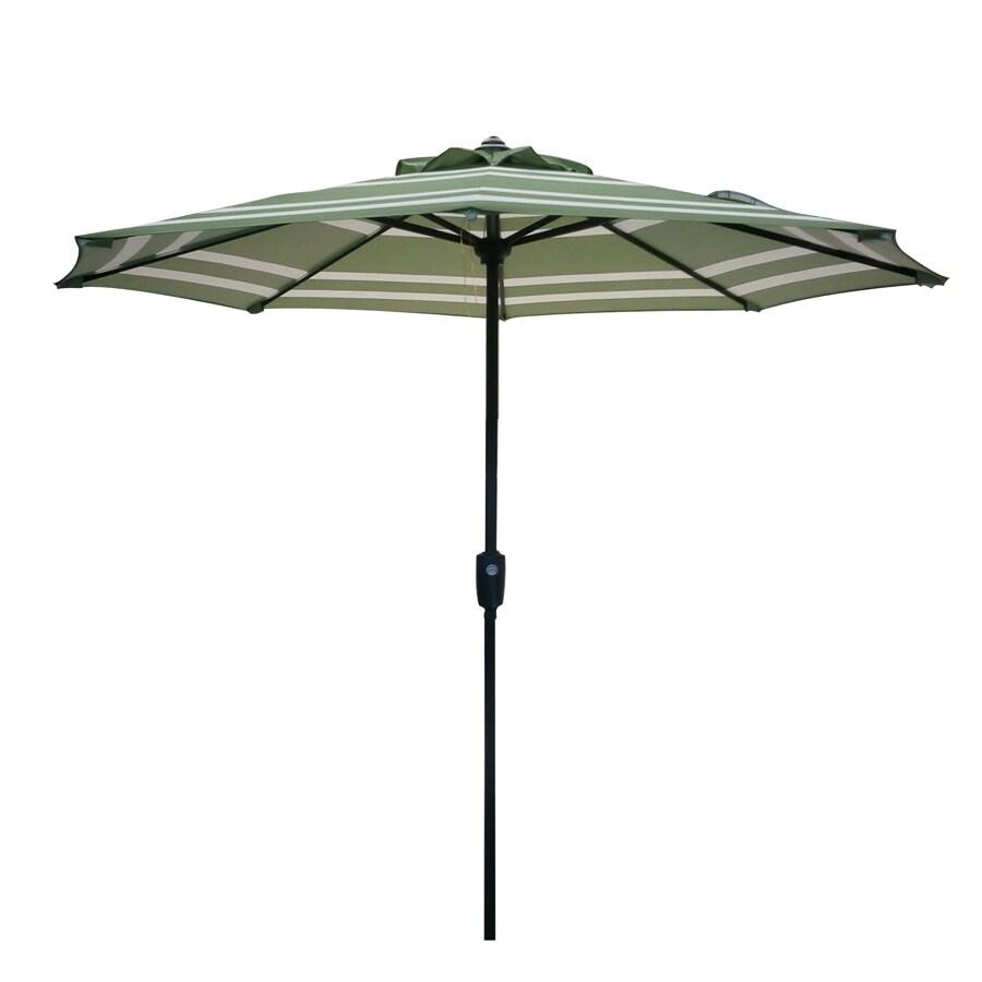 Shop Garden Treasures Market Patio Umbrella (Common: 7.5
