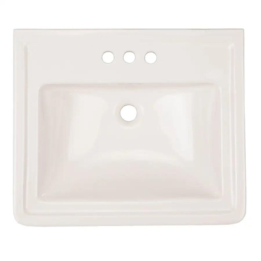 ada compliant pedestal sinks at lowes com