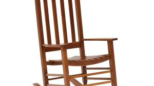 Style Selections Wood Rocking Chair(s) With Slat Seat At