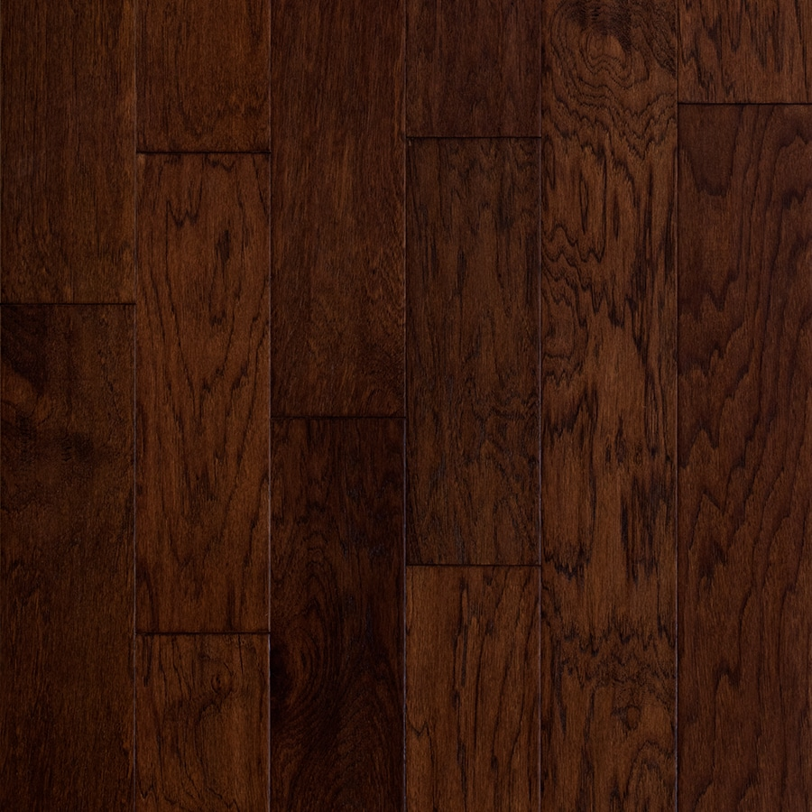 Shop Style Selections 5in Barrel Handscraped Hickory Hardwood Flooring 3229sq ft at Lowescom