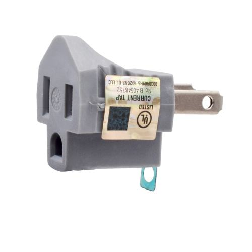small resolution of project source 15 amp 2 wire single to single gray basic adapter
