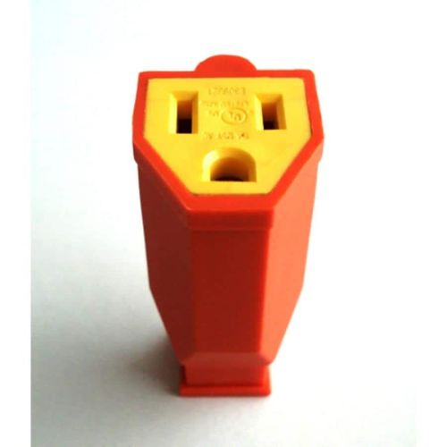 small resolution of project source 15 amp volt orange 3 wire grounding connector