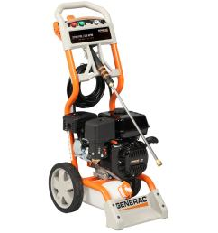 generac 2700 psi 2 3 gpm carb compliant water gas pressure washer [ 900 x 900 Pixel ]