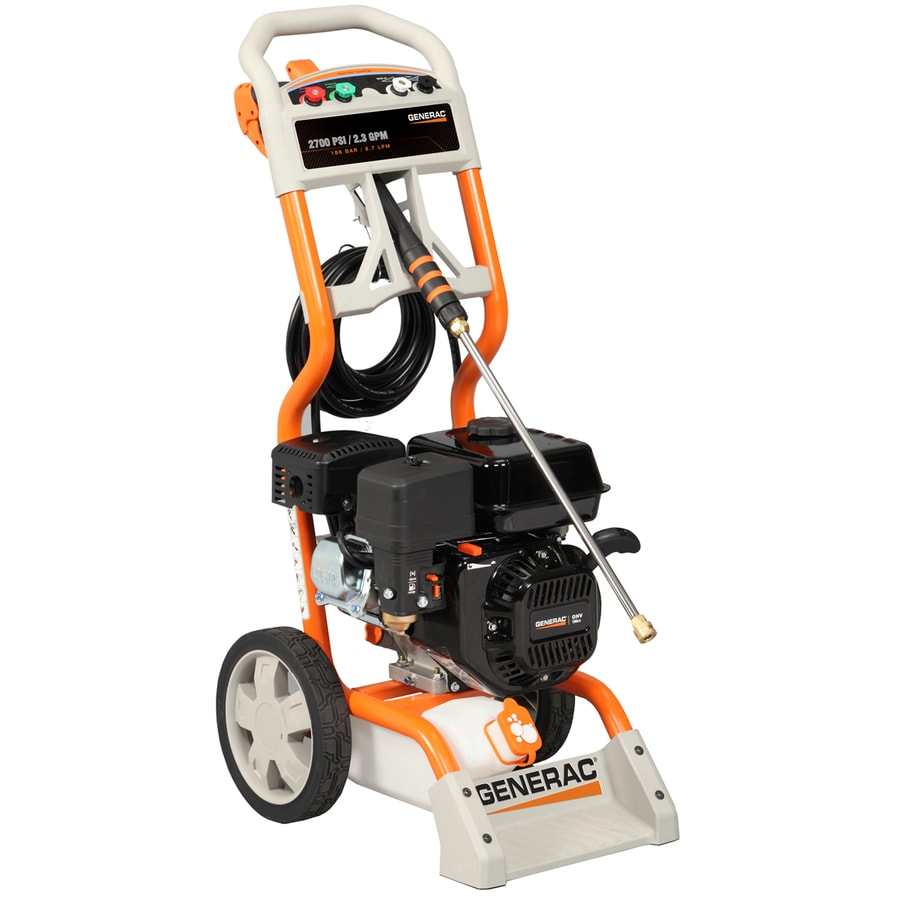 medium resolution of generac 2700 psi 2 3 gpm carb compliant water gas pressure washer