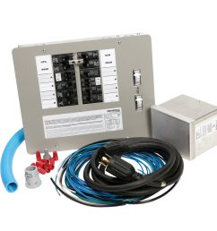 generac 30amp 10 to16 circuit manual transfer switch at lowescom [ 900 x 900 Pixel ]
