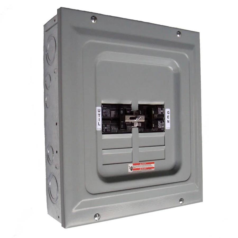 generac manual transfer switch wiring diagram 2005 dodge ram radio shop 60-amp single-load at lowes.com