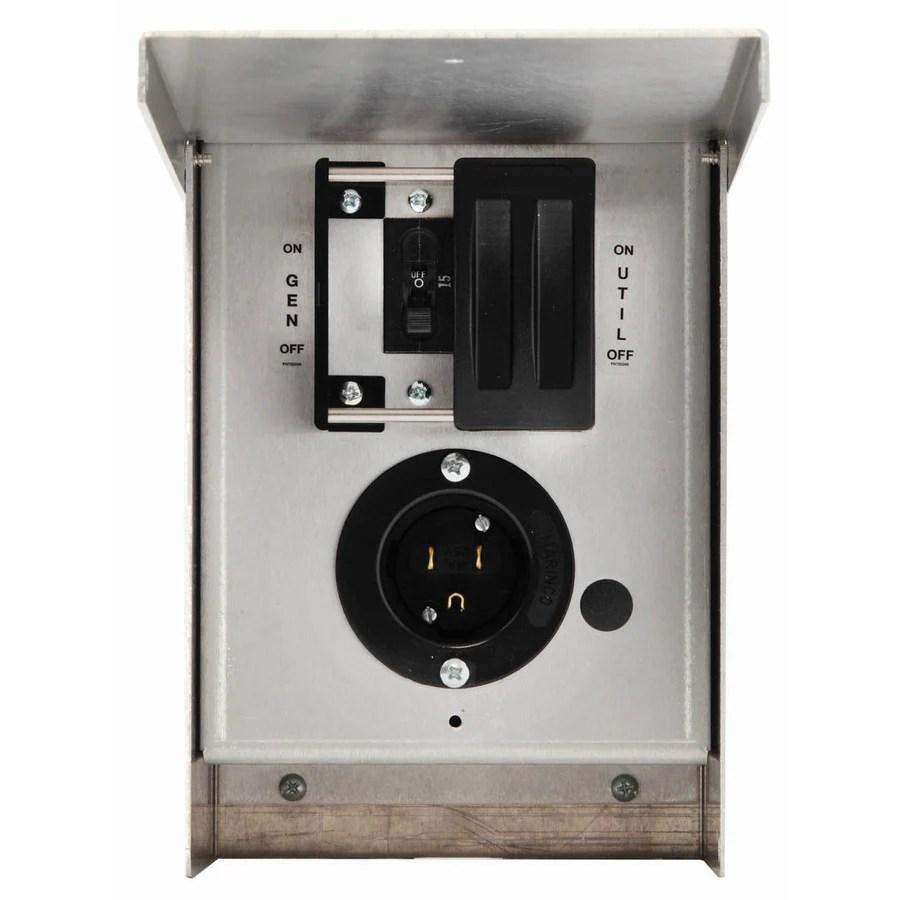 medium resolution of generac 15 amp single circuit manual transfer switch