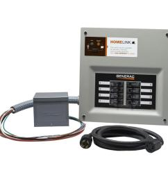 generac homelink 11000 watt generator transfer switch kit [ 900 x 900 Pixel ]