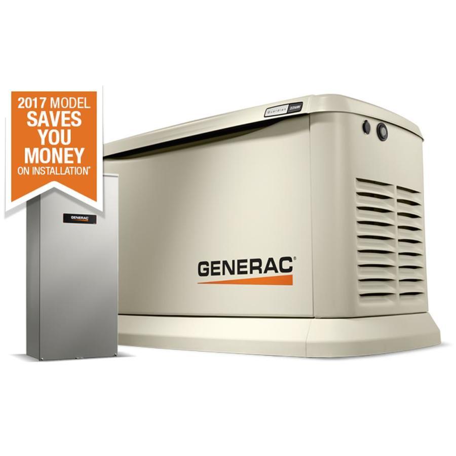 medium resolution of generac guardian 22 000 watt lp 19 500 watt ng standby generator with automatic transfer switch