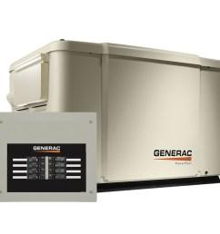 generac powerpact wifi enabled 7500 watt lp 6000 watt ng standby generator with automatic transfer switch [ 900 x 900 Pixel ]