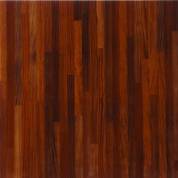 Shop Porcelanite Red Wood Look Floor Tile (Actual: 17.24 ...