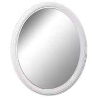 Shop Style Selections White Oval Wall Mirror at Lowes.com