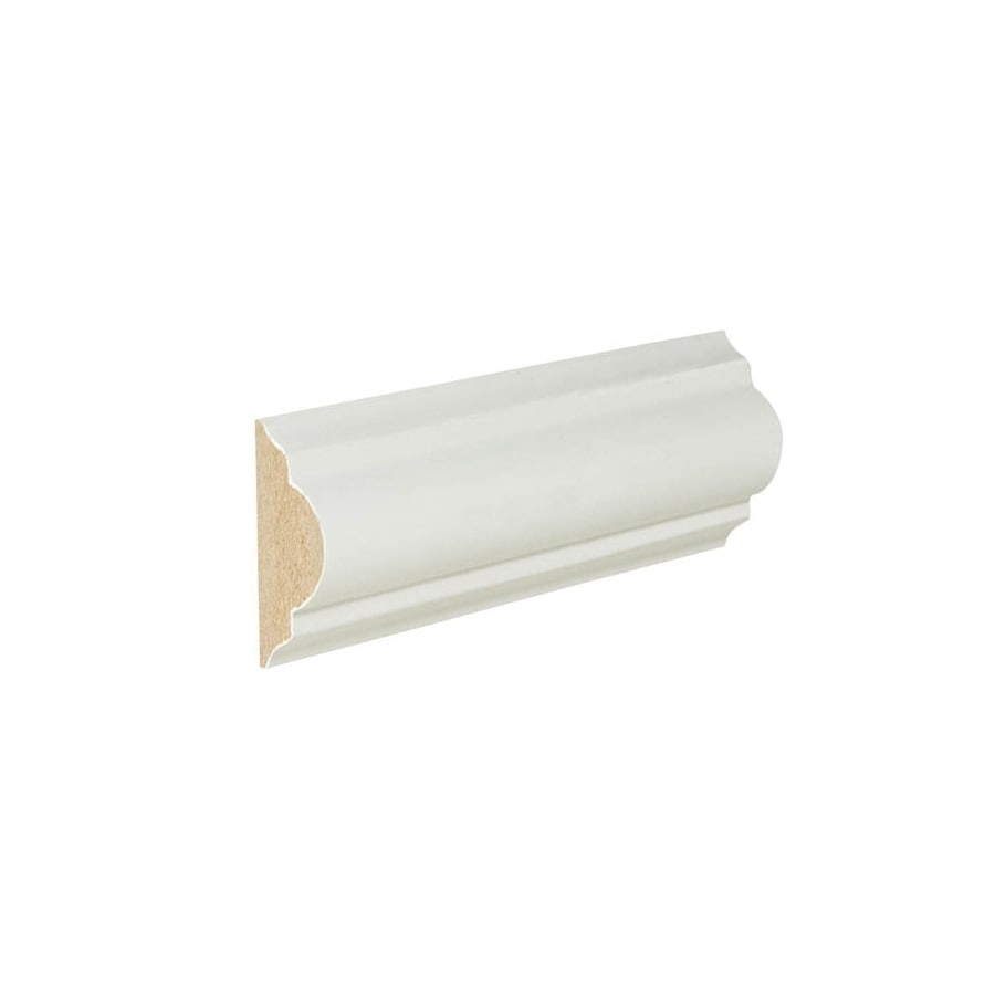 chair rail molding profiles huge round 1 625 in x 12 ft painted mdf moulding at lowes com