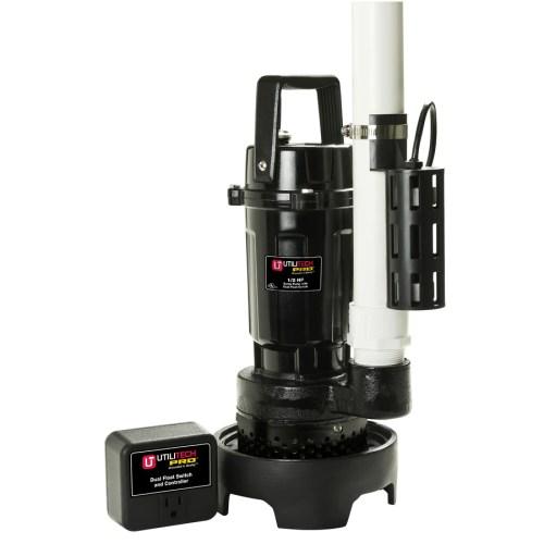 small resolution of utilitech 0 5 hp aluminum submersible sump pump