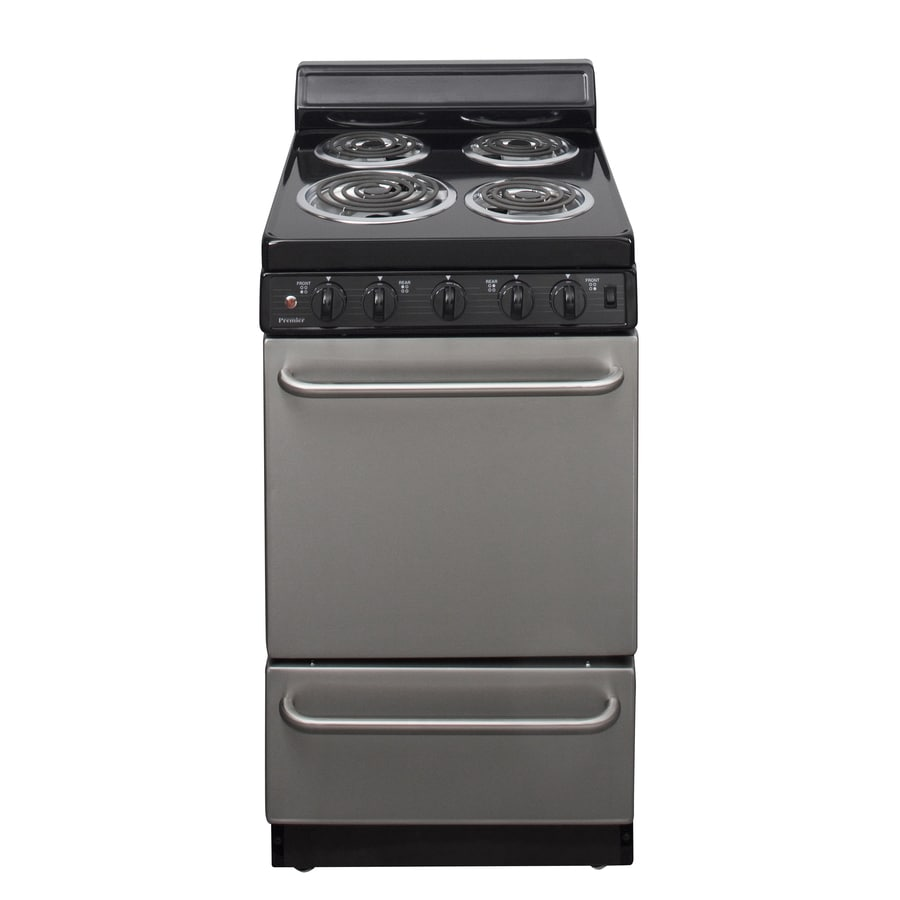 Premier 24cu ft Freestanding Electric Range Stainless Steel Common 20in Actual 20125