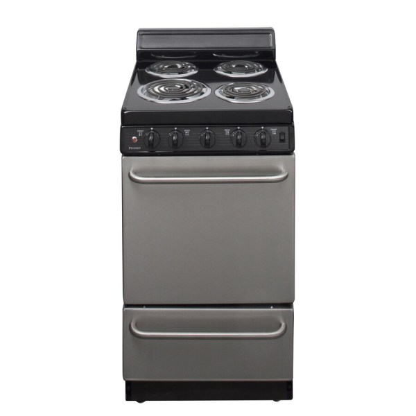 20 Electric Range Stainless Steel