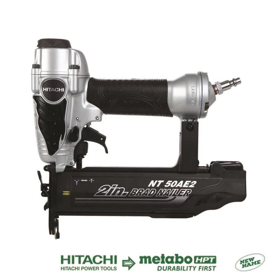 Hitachi 18Gauge Roundhead Brad Pneumatic Nailer at Lowescom