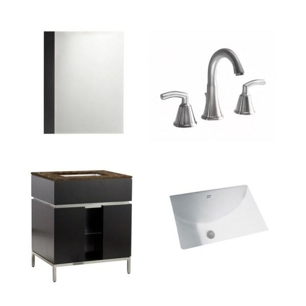 "American Standard 22"" Espresso Studio Bath Vanity With Top"