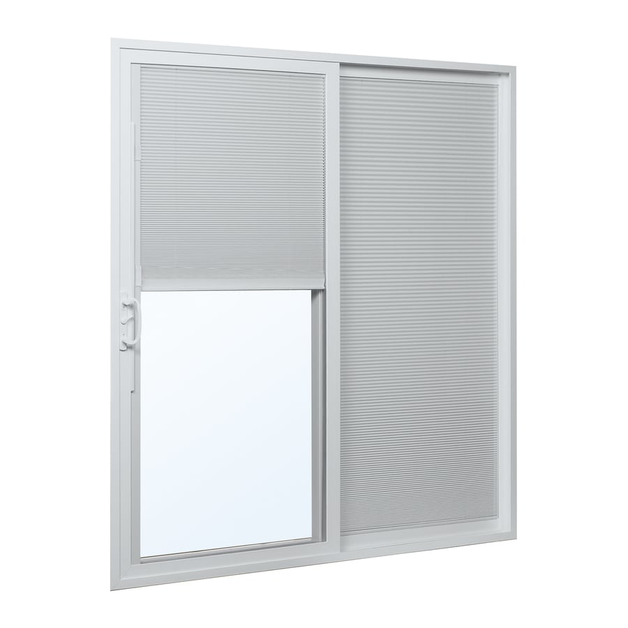 sliding patio door in the patio doors