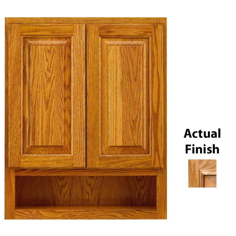 lowes kitchen cabinet hardware redesign ideas shop kraftmaid 24-in w x 30-in h 7-in d nutmeg glaze ...