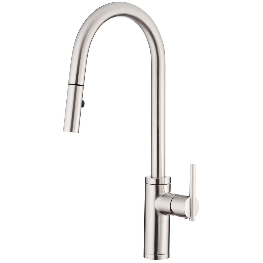 Shop Danze Parma Stainless Steel 1Handle PullDown