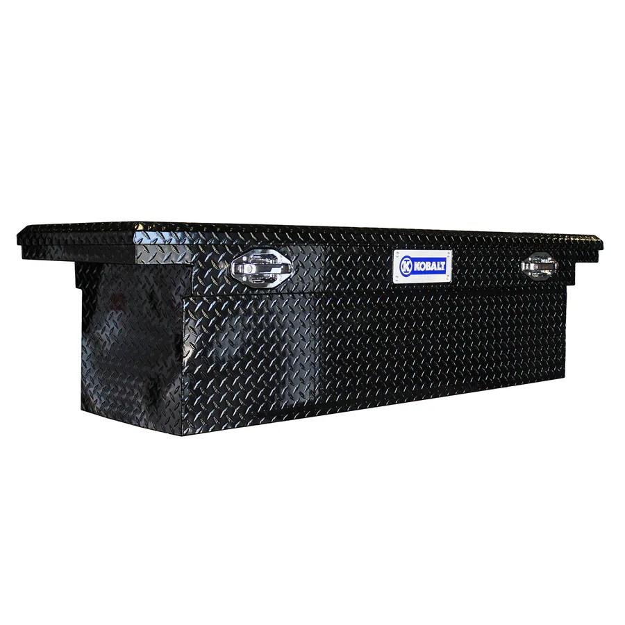 medium resolution of kobalt 69 in x 19 in x 18 in black powder coat aluminum
