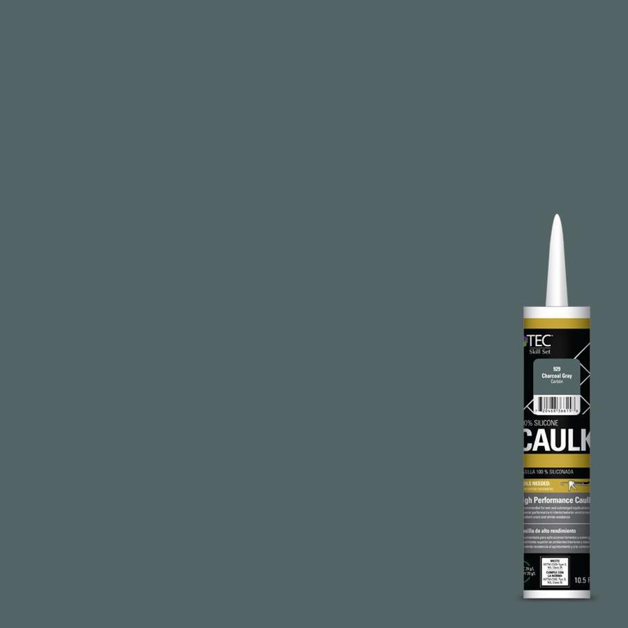 TEC Skill Set 105 Fl Oz Charcoal Gray Paintable Silicone