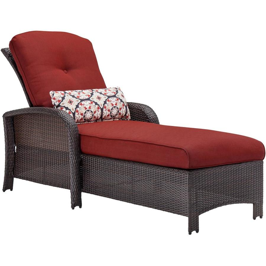 wicker chaise lounge chairs outdoor chair and ottoman slipcovers pottery barn hanover furniture strathmere with cushioned