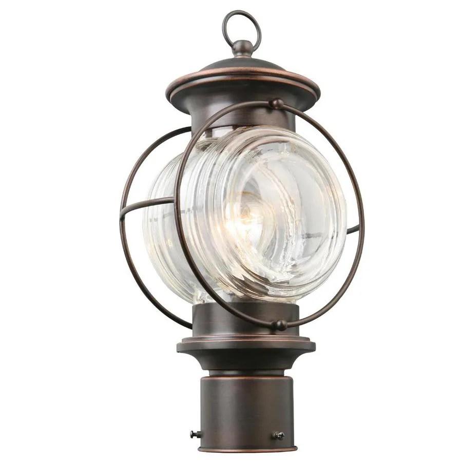 medium resolution of portfolio caliburn 15 25 in h oil rubbed bronze post light