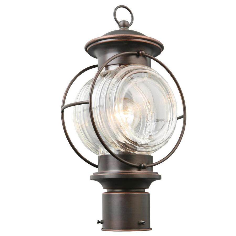 hight resolution of portfolio caliburn 15 25 in h oil rubbed bronze post light
