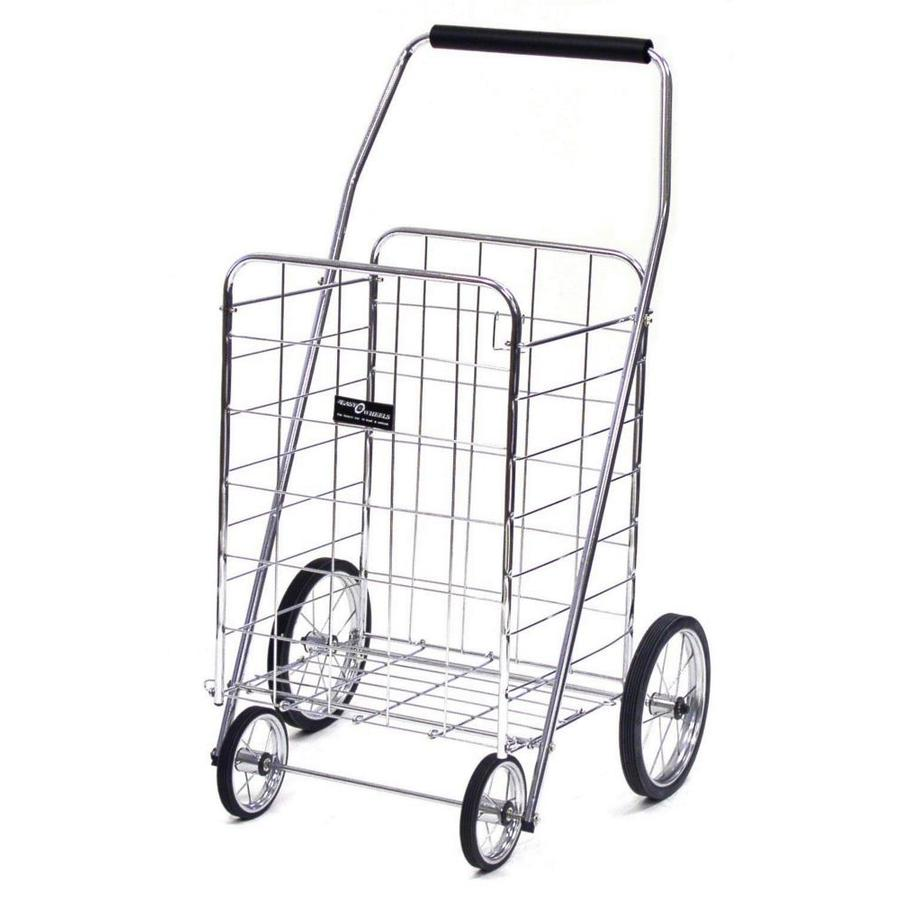 Easy Wheels Collapsible Steel Shopping Cart at Lowes.com