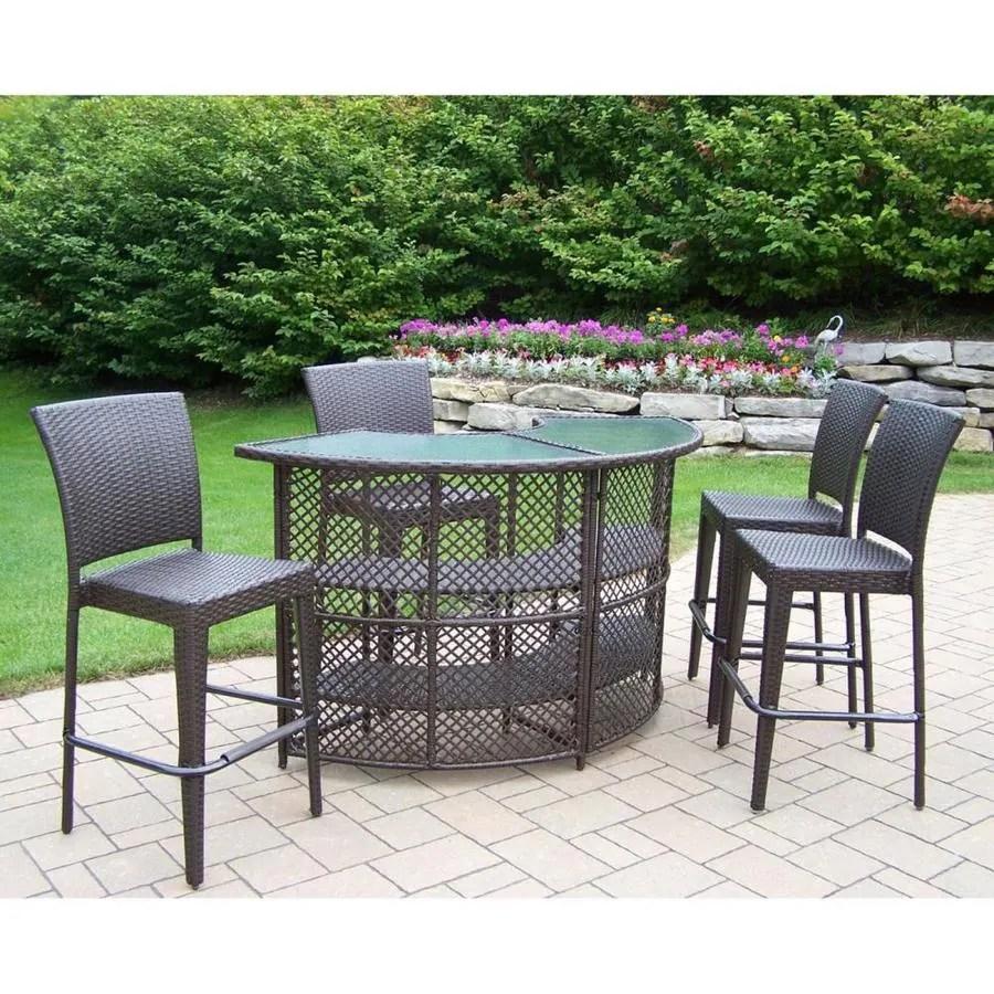 elite resin wicker patio furniture sets