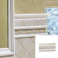Tile Chair Rail - Tile Design Ideas